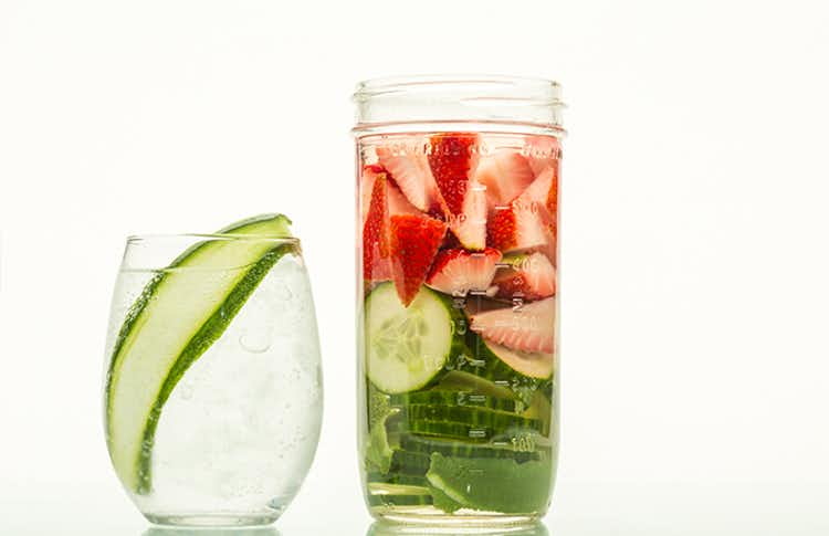 Strawberry, Cucumber & Lime Infused Gin