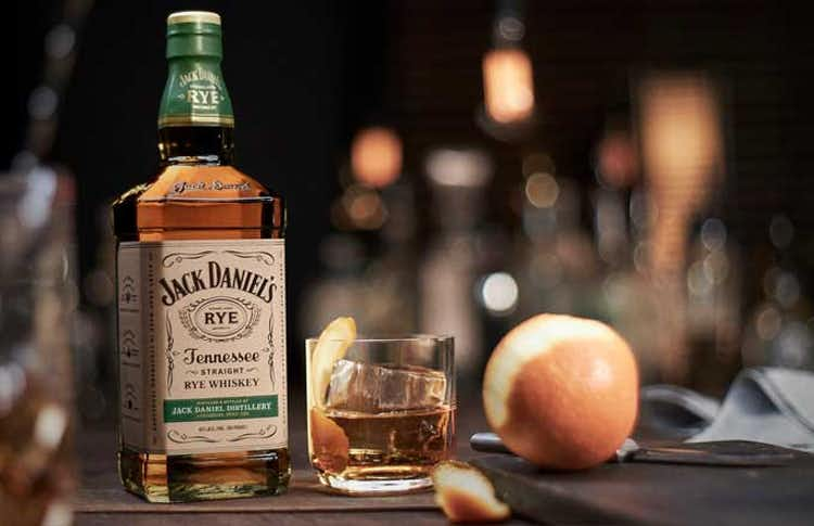 Jack Daniel's Tennessee Rye Old Fashioned