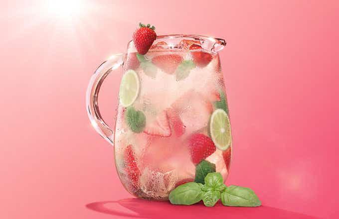 Strawberry Basil Blast