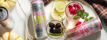 Smirnoff Seltzer Berry Lemonade and Pisco