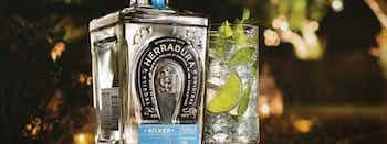 Tequila Herradura & Sparkling Mineral Water