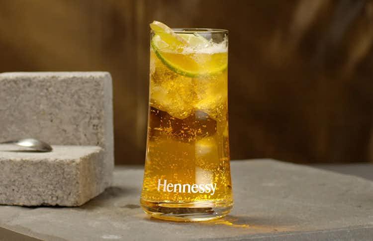 Hennessy Ginger Cocktail