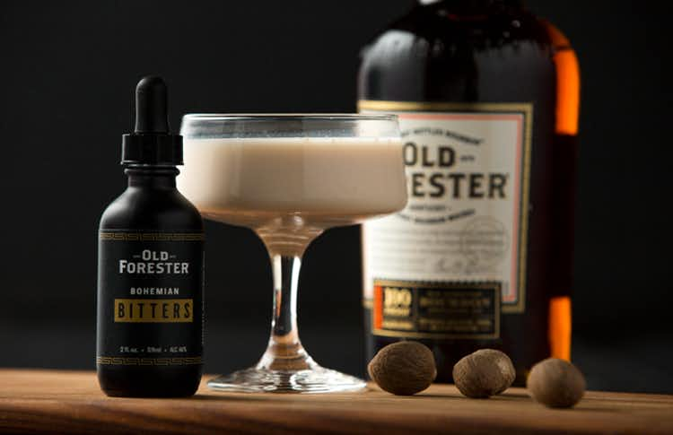 Old Forester Bourbon Alexander