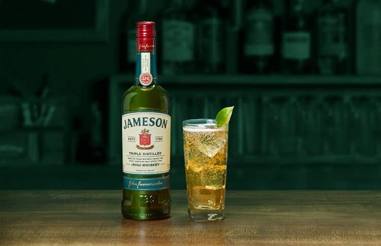 Jameson, Ginger & Lime