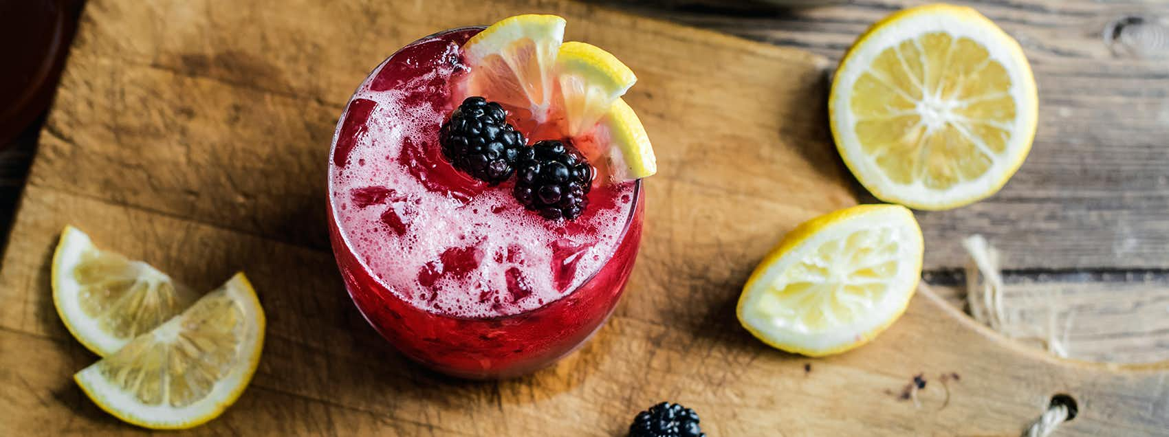 Bourbon Bramble
