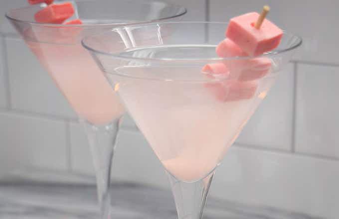 Pink Starburst Martini