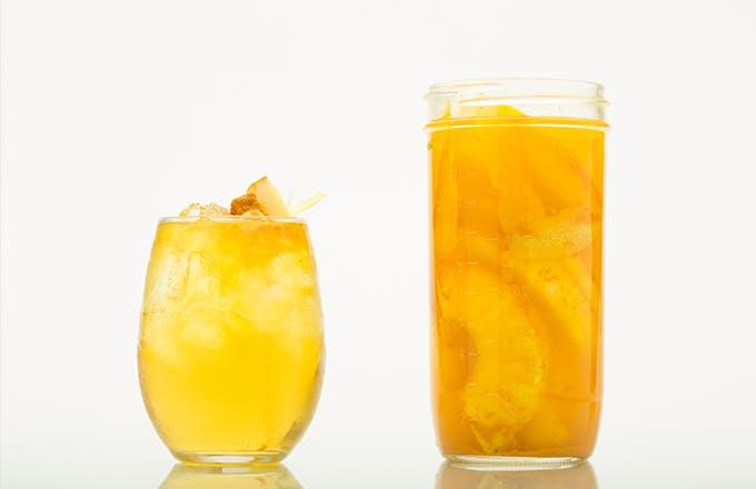 Turmeric, Lemon & Pineapple Infused Vodka