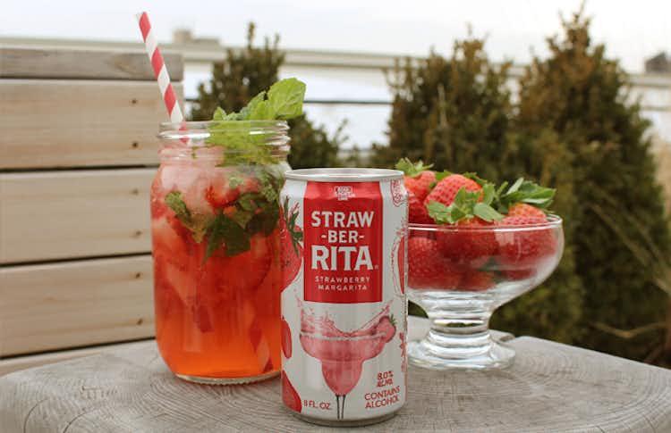 Straw-ber-Rita Mojito