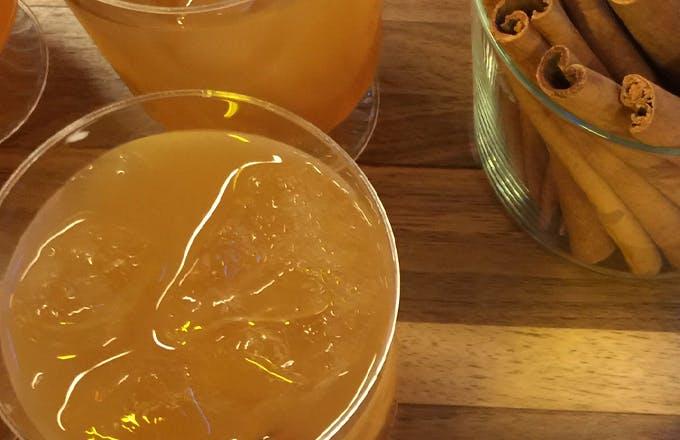 Bourbon Ginger Cider