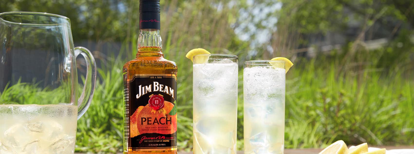 Jim Beam Peach Sparkling Lemonade