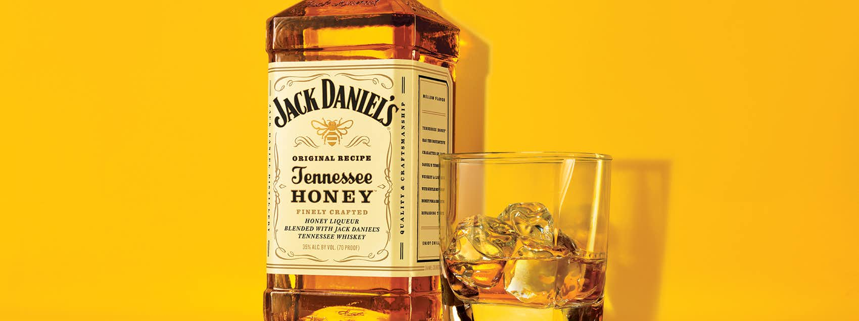 Jack Honey on the Rocks