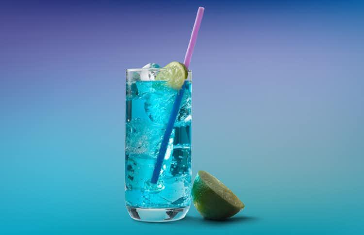 UV Blue Bombsicle